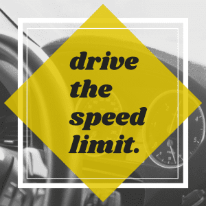 Drive The Speed Limit
